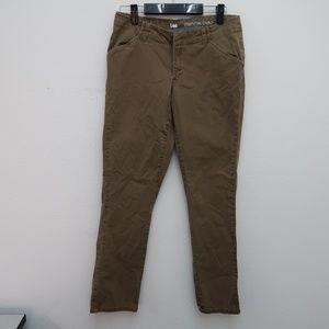 Womens Lee Essential Chino Khaki Pants Size 6